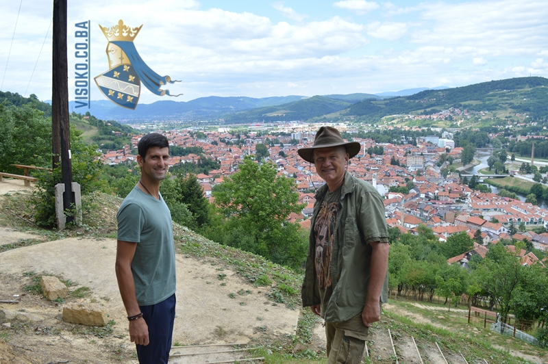 Proposal sent: Djokovic will be declared an honorary citizen of Visoko?